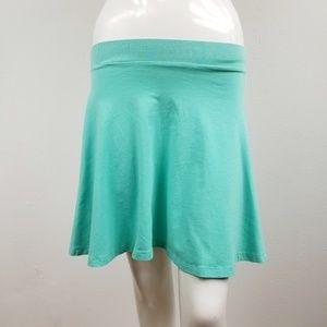 Victoria's Secret Pink Teal A-line Skater Skirt Sm